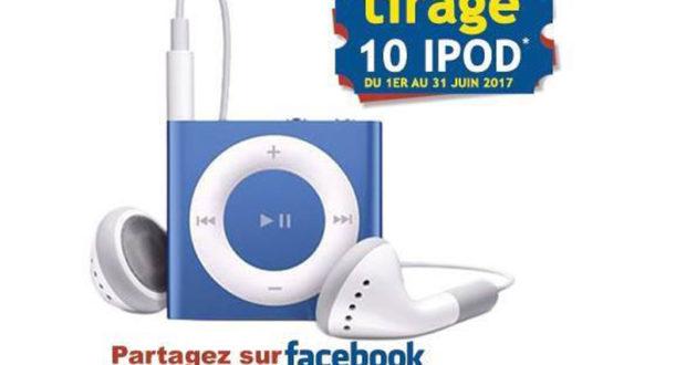 10 iPods à gagner