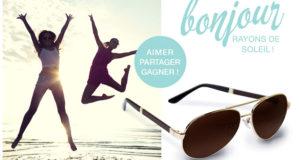 21 paires de lunettes de soleil Chris Aviator
