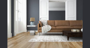 215 pieds/carrés de plancher en bois d'ingénierie Kalista HICKORY NATUREL