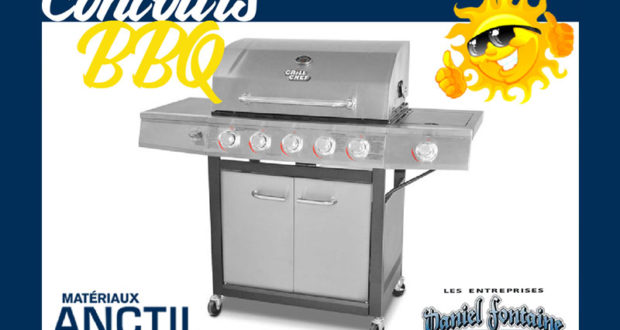 BBQ Grill Chef de 72 000 BTU