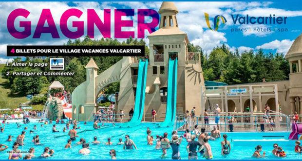 Billets pour le Village Vacances Valcartier