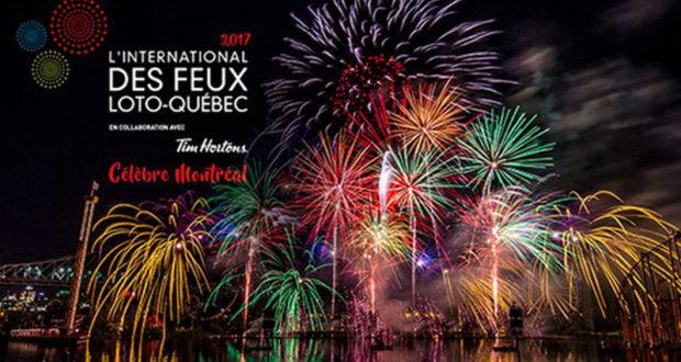 Forfait nuitée pour L'International des Feux Loto-Québec