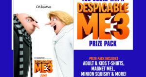 Gagnez un lot de prix pour le film Despicable Me 3