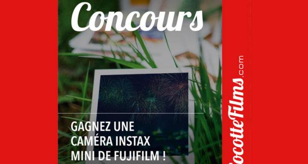 Gagnez une caméra Instax Mini de Fujifilm