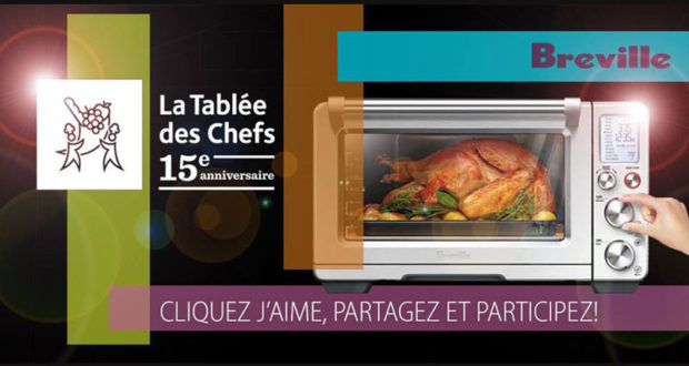Gagnez Breville Smart Oven Air
