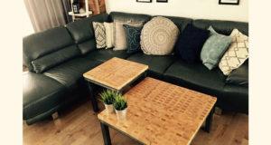 Tables fabriquées par Forge Design Inc