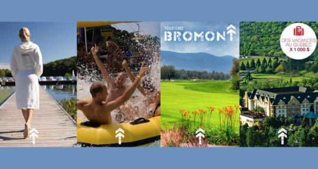 Tourisme Bromont vous offre un forfait de 1 000 $