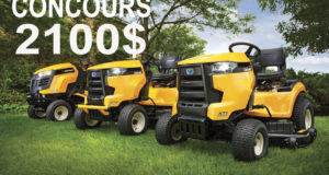 Tracteur à jardin Cub Cadet de 2100$