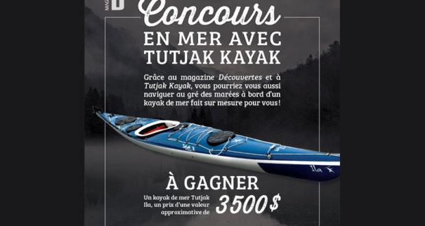 Un kayak de mer Tutjak Ila de 3500$