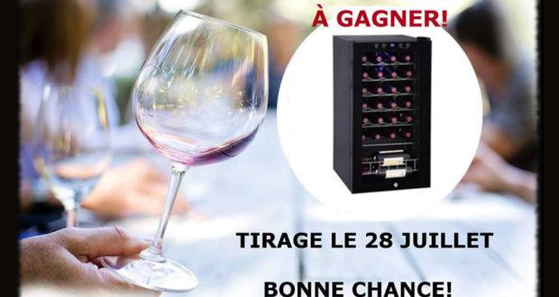 Amateurs de vins Gagnez un Cellier