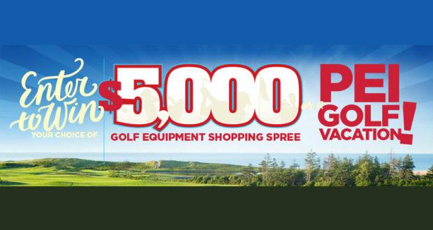 Equipement de Golf de 5000$