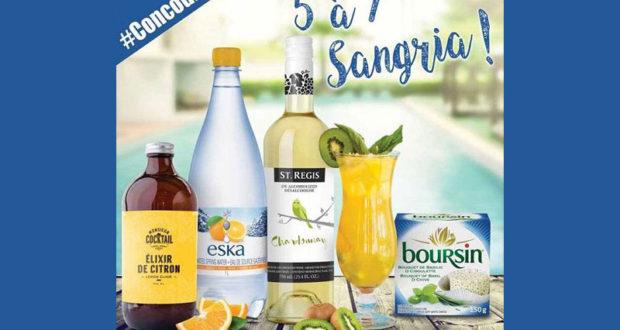 Panier de produits ESKA, Monsieur Cocktail et St.Regis