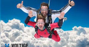 Saut en parachute avec Parachute Voltige