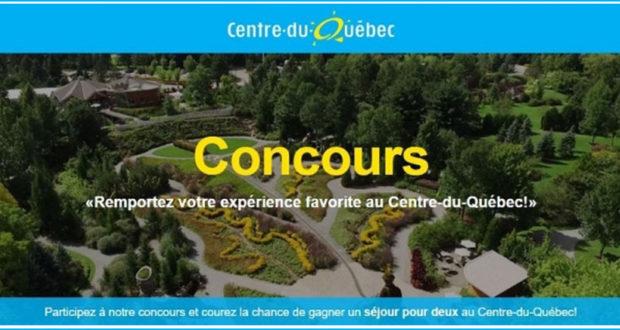 Remportez votre expérience favorite au Centre-du-Québec