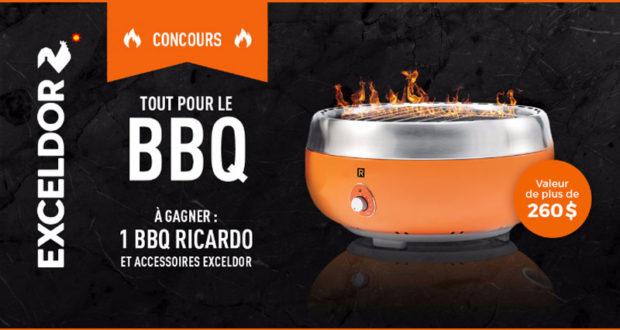 Un bbq portatif ricardo accessoires de cuisine exceldor - Ricardo cuisine concours ...