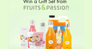 Un ensemble de produits Fruits & Passion