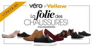 1000$ de chaussures Yellow