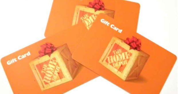 50$ en Carte cadeau Home Depot