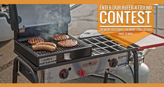 Gagnez un BBQ Camp Chef Big Gas Grill 2X
