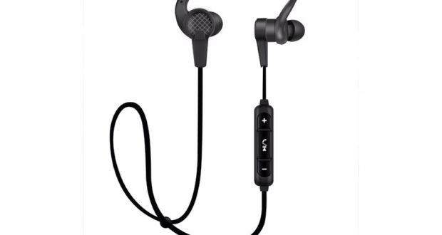 Écouteurs Bluetooth 4.2 Sans Fil avec Microphone