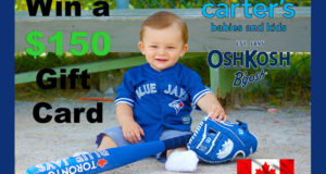 Carte-cadeau Carter's de 150 $