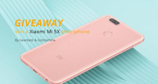 Gagnez un téléphone gratuit Xiaomi Mi 5X