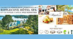 Séjour pour 2 au Ripplecove Hotel Spa sur le lac
