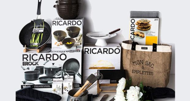 Un ensemble d 39 accessoires ricardo 1250 qu bec - Ricardo cuisine concours ...