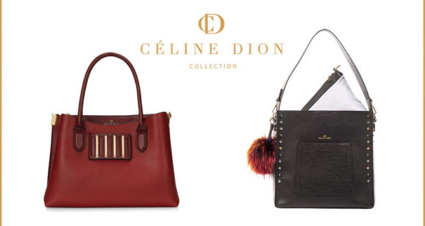 Un sac à main de la collection Céline Dion