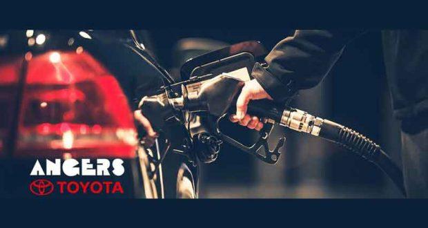 500 $ d'essence avec Angers Toyota
