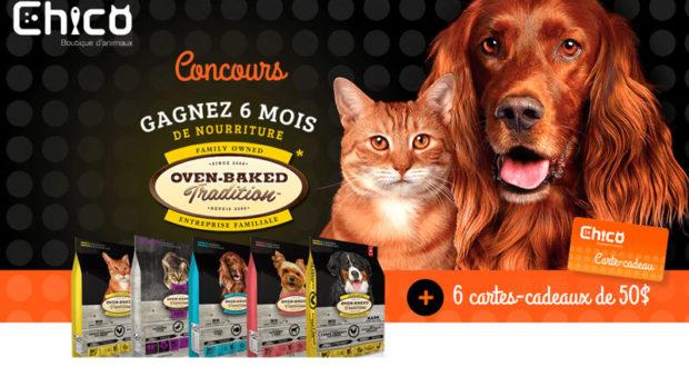 6 mois de nourriture pour animaux Oven Baked Tradition