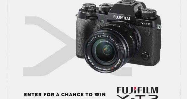 Gagnez une caméra Fujifilm X-T2 (1899$)