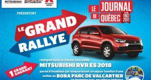 Gagnez une voiture Mitsubishi RVR ES 2018