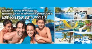 Voyage pour 4 au Memories Splash à Punta Cana (6000$)