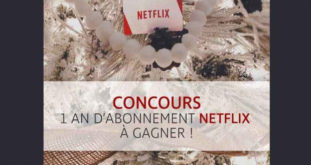 1 an d'abonnement Netflix