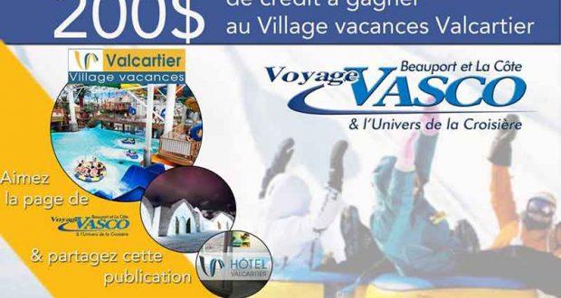 200$ au Village Vacance Valcartier