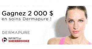 2000 $ en soins Dermapure