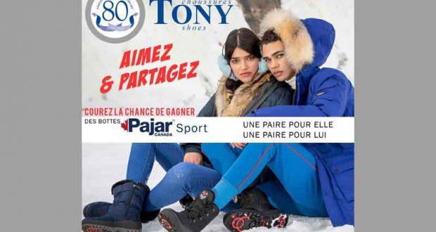Deux paires de bottes d'hiver de Pajar Sport