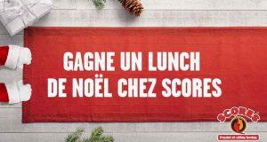 Lunch de Noël pour 35 personnes de ton bureau chez Scores