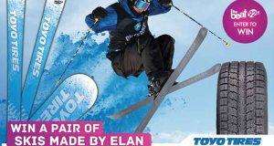 Paire de skis faite par Elan