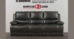 Sofa inclinable de la collection Alaska (1000$)