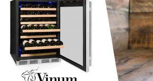 Un luxueux cellier Vinum 60 bouteilles