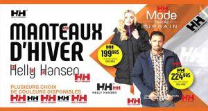 Un manteau d'hiver de la marque Helly Hansen