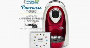 Une machine espresso à capsules Cafitally