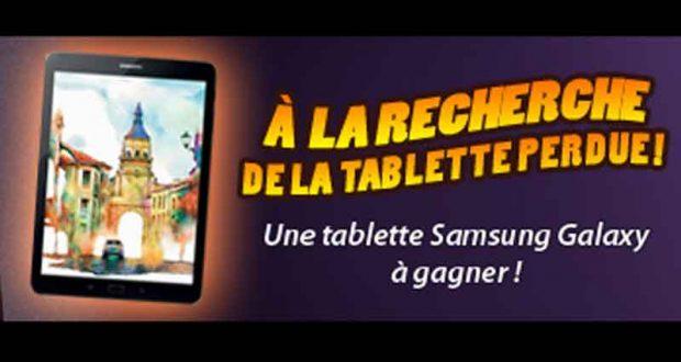 Une tablette Samsung Galaxy