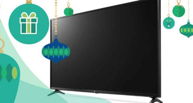 Une télévision LG 4K de 49'' (1100$)