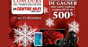 Carte-cadeau Centre HI-FI de 500 $