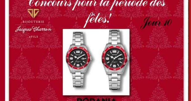 Duo de montre Rodania de 400$