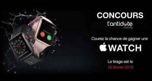 Gagnez une Apple Watch (450$)