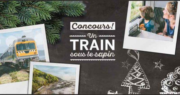 Gagnez une escapade à bord du Train de Charlevoix